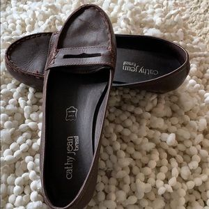 Gently worn loafers